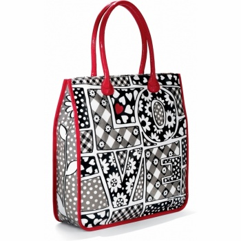 Love Block Love Block Tall Tote
