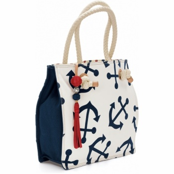 Anchors Away Starboard Large Tote