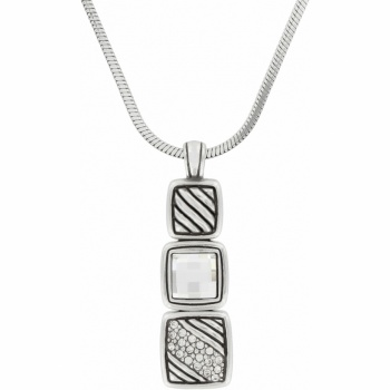 Tres Tile Necklace