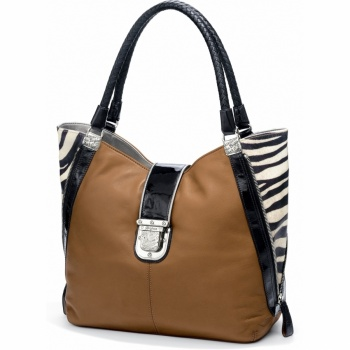 Fashionista City Block Linda Large Tote