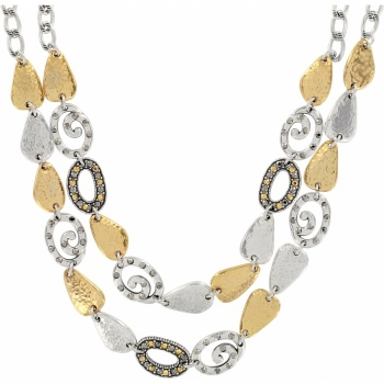 Melange Double Row Necklace