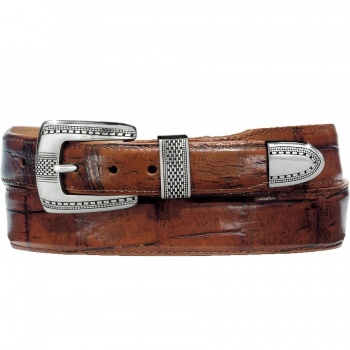 Alpine Croco Taper Belt