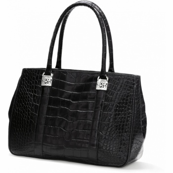 Mingle Monroe Croco Tote