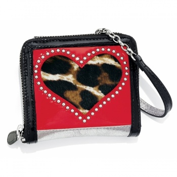 Fashionista Leopard Love Small Wallet