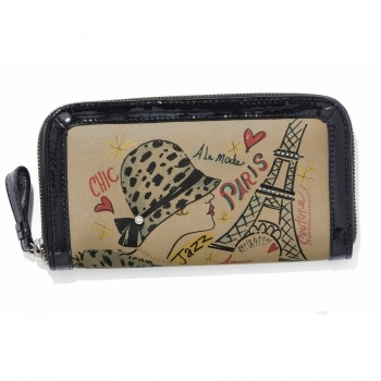 Fashionista Deco Diva Large Wallet