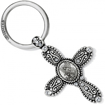 Angel Angel Cross Key Fob