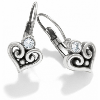 Alcazar Alcazar Heart Leverback Earrings