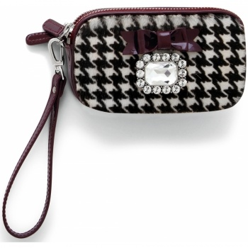 Lady Luxe Lady Luxe Double Zip Wristlet Pouch