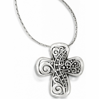 Love Affair Love Affair Reversible Cross Necklace