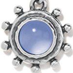 Size: OS - Silver-Sapphire